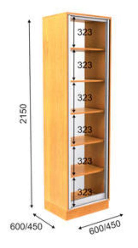 Пенал ПН-2 Премиум 2150