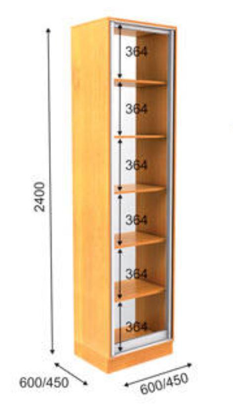Пенал ПН-2 Премиум 2400