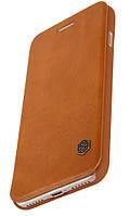 "Кожаный чехол-книжка Nillkin Qin Series для iPhone  7 plus / 8 plus (5.5"") brown"