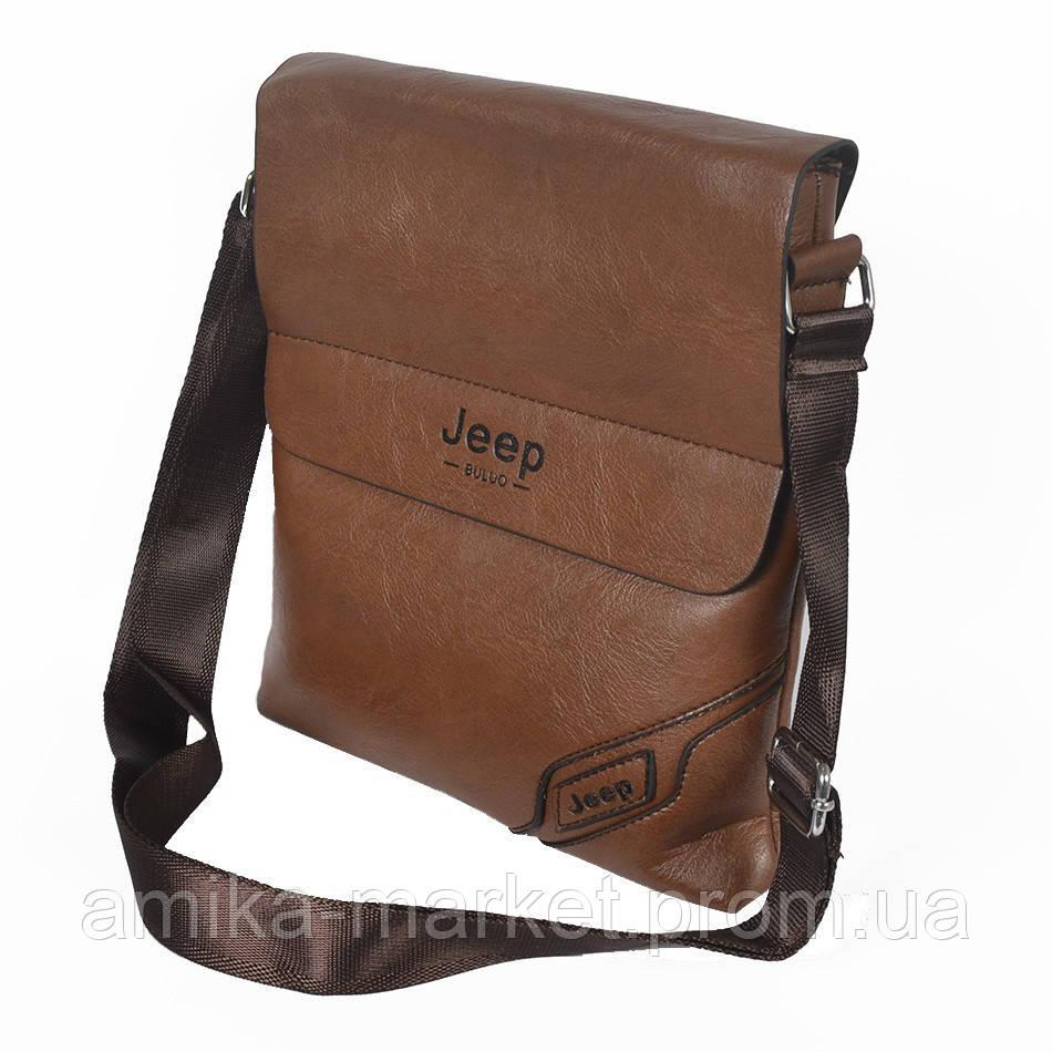 Стильная мужская сумка через плечо Jeep из кожзама - Амика-маркет в  Хмельницком 53133991ddea8