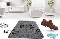 Супервпитывающий придверный коврик Clean Step Mat опт. Моментально впитывает грязь, пыль и даже воду