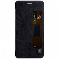 Кожаный чехол-книжка Nillkin Qin Series для Huawei  Mate 9 Pro black