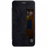 Кожаный чехол-книжка Nillkin Qin Series для Huawei  Mate 8 black