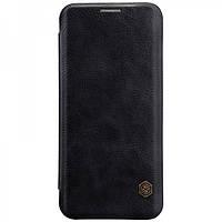 Кожаный чехол-книжка Nillkin Qin Series для Samsung  G955 Galaxy S8 Plus black