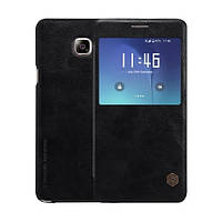 Кожаный чехол-книжка Nillkin Qin Series для Samsung  Galaxy Note 5 black