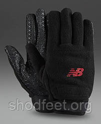 Зимние перчатки New Balance Winter Glove 5283 Black Red