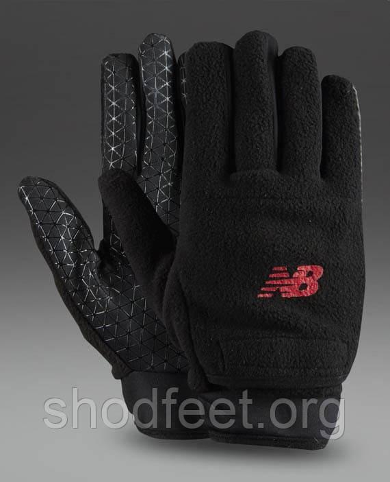 Зимние перчатки New Balance Winter Glove 5283 Black Red
