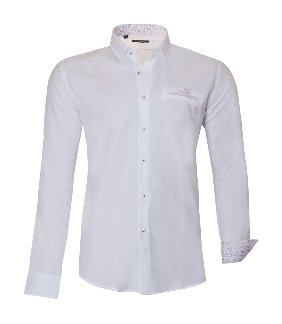 Рубашка мужская TOM Белая KS1620-1