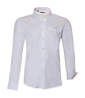 Рубашка мужская TOM Белая KS1620-1, фото 2