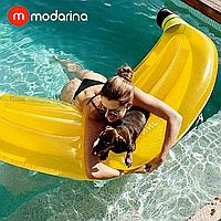 Надувной матрас Modarina Банан 180 см Желтый PF3017, фото 1