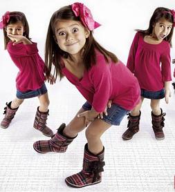 Зимова дитяча взуття для дівчаток