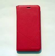 Чехол-книжка для смартфона Meizu M5 Note красная