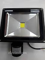 Прожектор светодиодный 30W с датчиком движения LEDEX