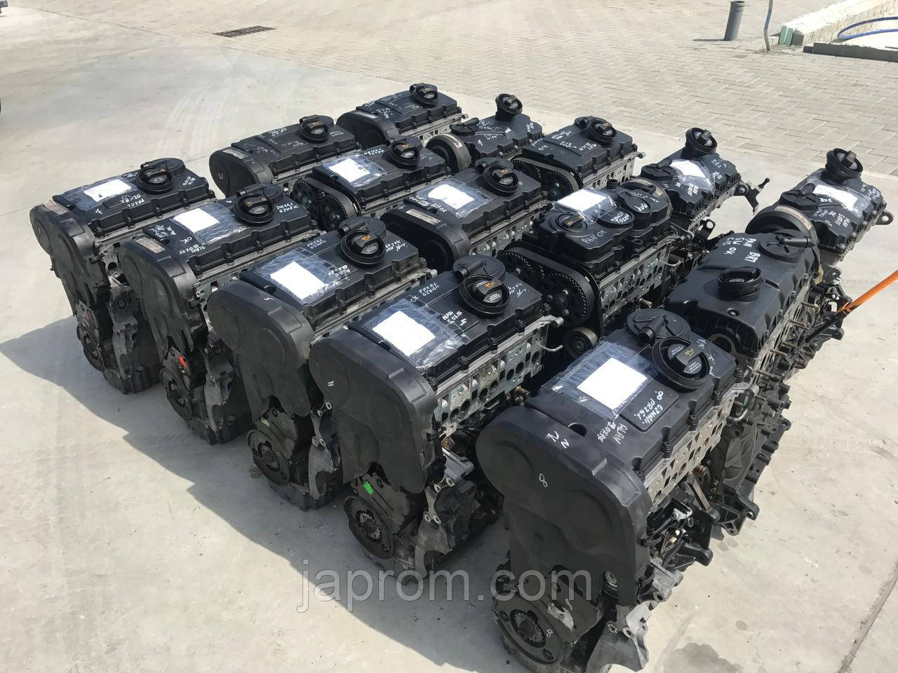 Мотор (Двигатель) Audi Volkswagen SKODA 2.0 TDI 16V 140 KM BKD BKP