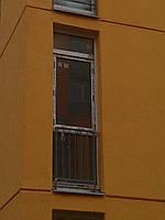 Oкна на балкон  REHAU Ecosol 60 Комфорт Таун 800х2610 стеклопакет 4/16/4
