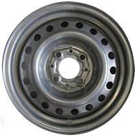 Стальные диски Steel ДК W6 R15 PCD4x100 ET45 DIA54.1 металлик
