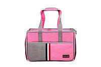 Сумка переноска для собак и котов Do do pet, Denim pink, розовый