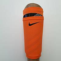 Чулки держатели футбольные NIKE Найк для щитков (оранжевые)