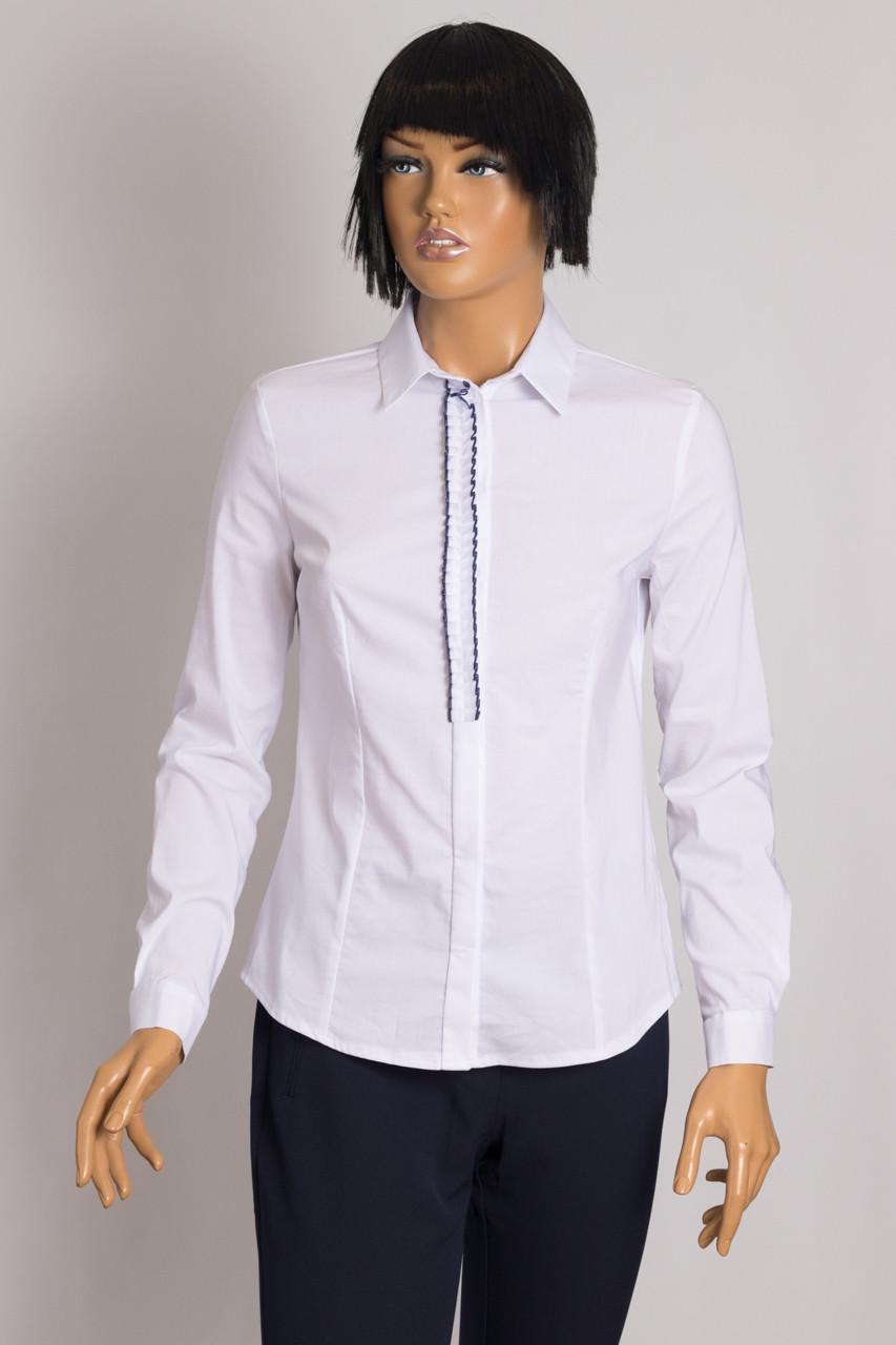 Блуза женская NOVUM 1006 WHITE RYSHA