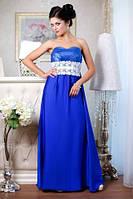 Вечернее синее платье Фирузе А2 Медини 42-48размеры