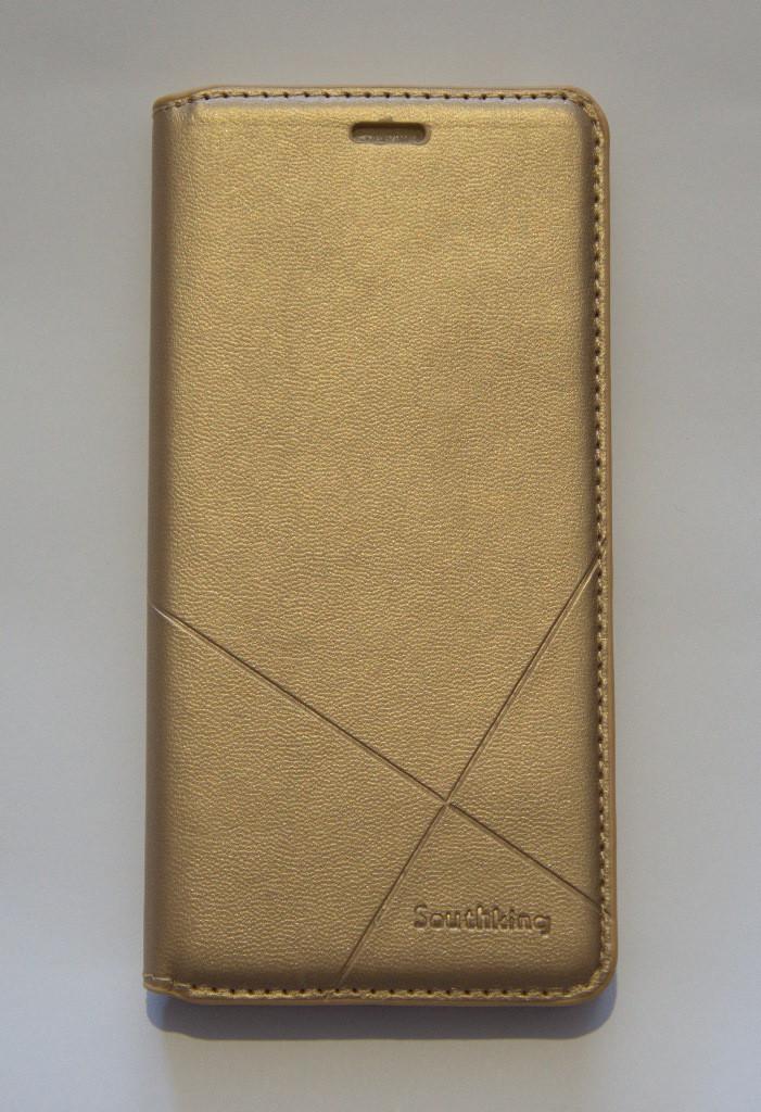 Чехол-книжка для смартфона Nokia 5 Dual Sim золотая MKA