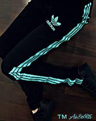 Спортивні штани Adidas(коп) чорні жіночі