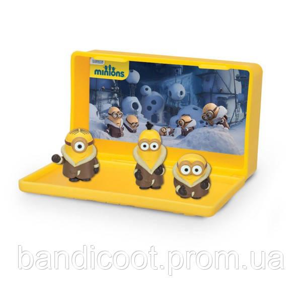 Игровой набор Маленькие Миньоны - Bored Silly Minions Зима