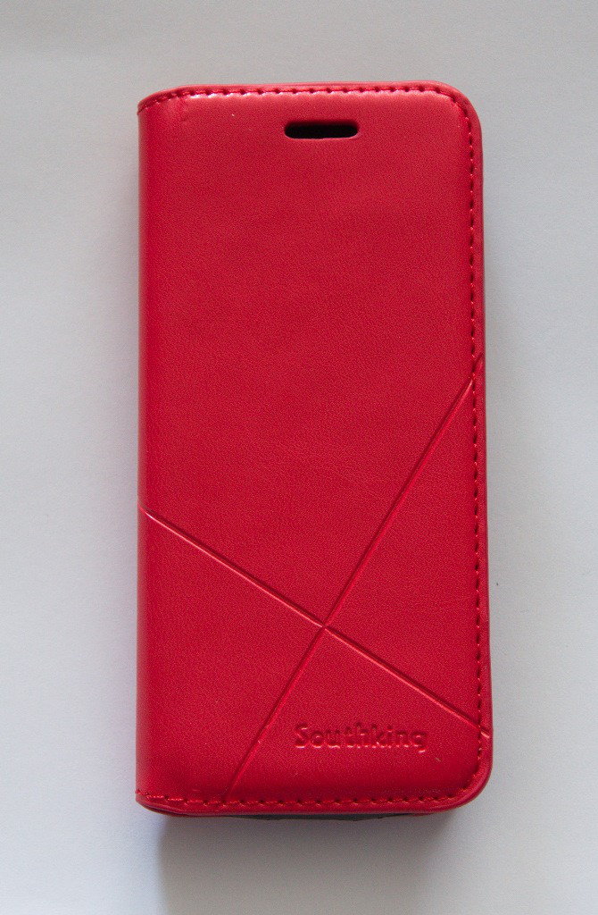Чехол-книжка для телефона Nokia 230 красная MKA