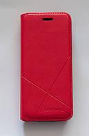 Чехол-книжка для телефона Nokia 230 красная, фото 1