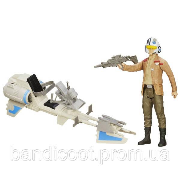 Пилот и гравицикл Звёздные войны: Эпизод VII: Пробуждение силы, Star Wars, Hasbro