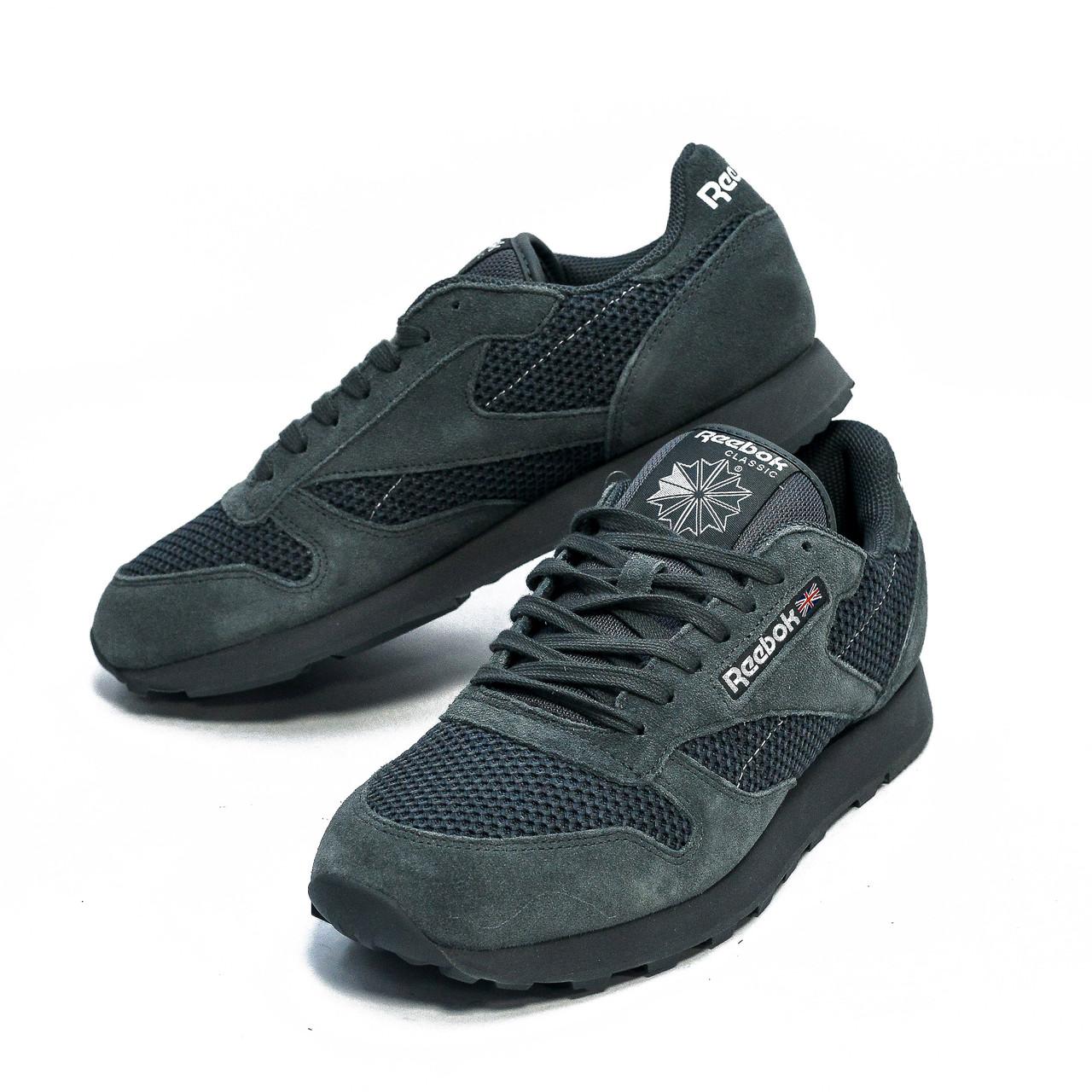 Оригинальные мужские кроссовки Reebok Classic Leather Knit