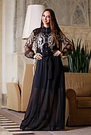 Вечернее черное платье Флорентина А1 Медини 42-46р