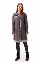 Элегантное кашемировое подростковое  пальто на девочку Chanel.
