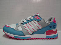 Кроссовки Adidas zx 750 женские 41 р ( маломерки )