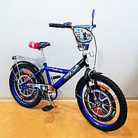 Велосипед TILLY Поліцейський 20 дюймов T-220210 blue + black