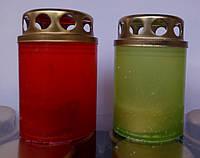 Лампадки свечи  8 часов  № 1 пластик