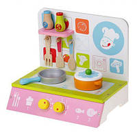 Кухня деревянная, маленькая MSN15025