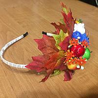Веночек для волос Осенний (к празднику Осени)