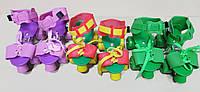 Ролики для детей раздвижные квадровые роликовые коньки (Польша)