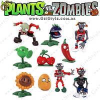 Фигурки Plants vs. Zombies - 10 шт.