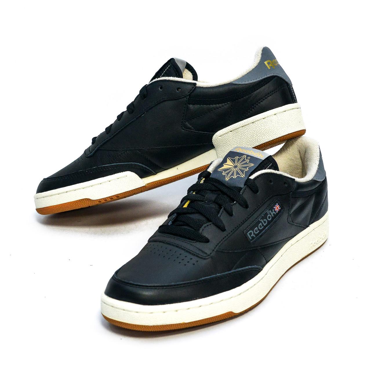 Оригинальные мужские кроссовки Reebok Club C 85 Retro Gum