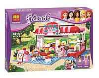 """Конструктор Friends Bela 10162 """"Кафе в городском парке"""" (аналог Lego 3061), 221 дет"""
