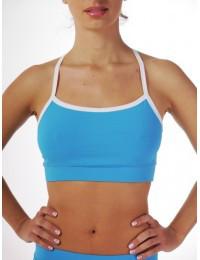 Топ для спорта и фитнеса суперцена! голубой цвет