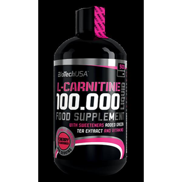 Карнитин BioTech L-Carnitine 100000 500 ml