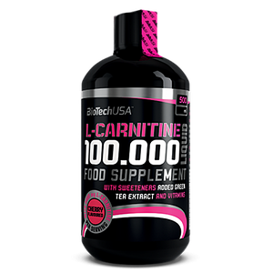 Карнитин BioTech L-Carnitine 100000 500 ml