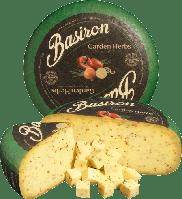 Сыр BASIRON Garden Herbs смесь трав: сладкий перец, лук и чеснок