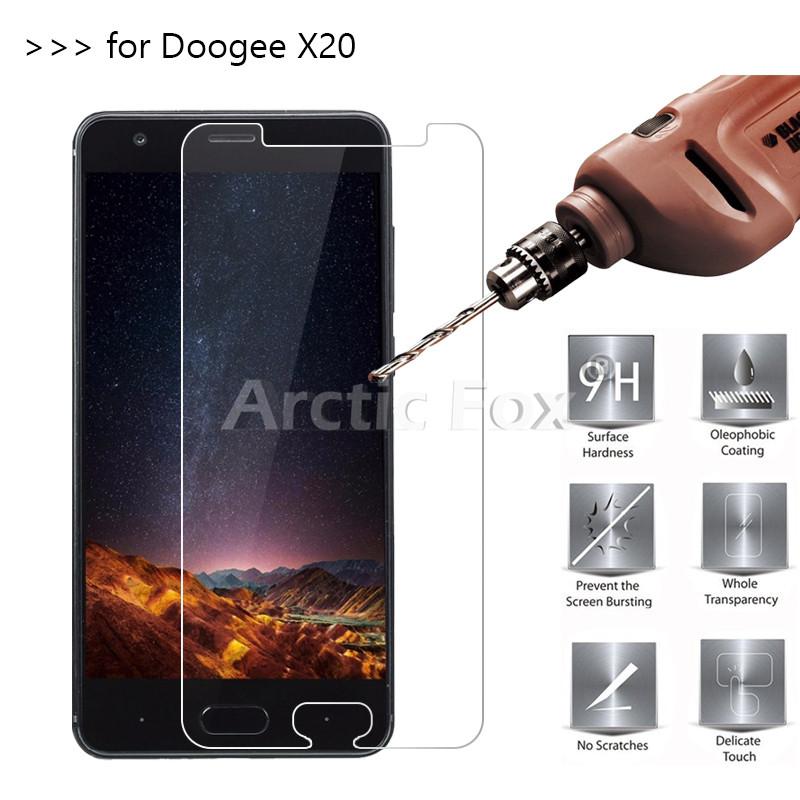 Закаленное стекло для Doogee X20 и X20L от фирмы Qosea