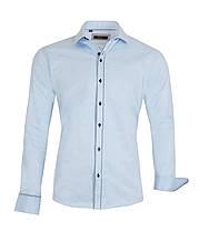 Рубашка Russo голубая
