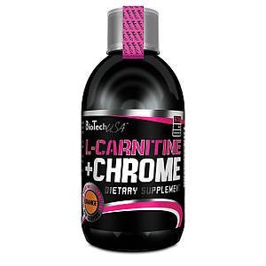 Жиросжигатель BioTech L-Carnitine 35000+Chrome 500 ml