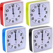 Настольные часы - будильник 14×14×4 см 202